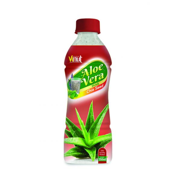 Pet Bottle Aloe vera drink with Chia Seed flavour 350ml 1