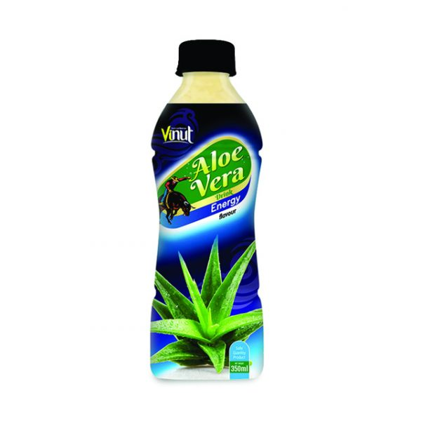 Pet Bottle Aloe vera drink with Energy flavour 350ml 1