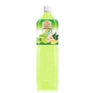 1.5L VINUT Bottle Aloe vera drink with ginger and lime